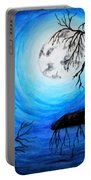 Moon Lit Portable Battery Charger