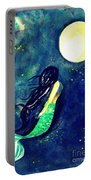 Moon Mermaid Portable Battery Charger