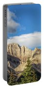 Moon Over Canmore Alberta Portable Battery Charger