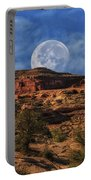 Moon Over Canyonlands Portable Battery Charger