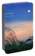 Moon Over Casapaz Portable Battery Charger