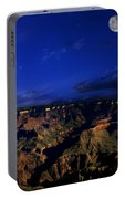 Moon Over The Canyon Portable Battery Charger