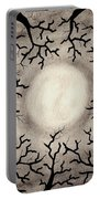 Moon Over Trees Portable Battery Charger