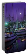 Moon Over Winchester Bay Portable Battery Charger