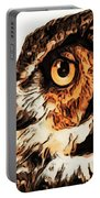 Moon Owl Portable Battery Charger