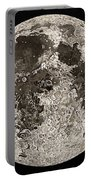 Moon Surface By John Russell Portable Battery Charger