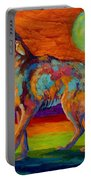 Moon Talk - Coyote Portable Battery Charger