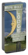 Moon Winx Lodge Sign Portable Battery Charger