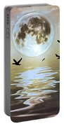 Moonlight On Water Portable Battery Charger