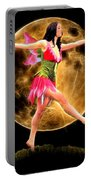 Moonlight Stroll Of A Fairy Portable Battery Charger
