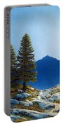 Moonlit Trail Portable Battery Charger