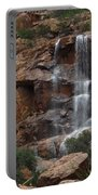 Moonlit Waterfall Portable Battery Charger