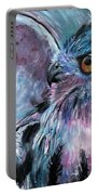 Moonlit Wisdom  Portable Battery Charger