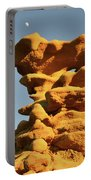 Moonrise Over Fantasy Canyon Hoodoo Portable Battery Charger