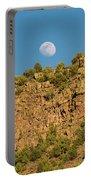 Moonrise Rio Grande Gorge Pilar New Mexico Portable Battery Charger