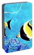 Moorish Idol Fish  #50 Portable Battery Charger