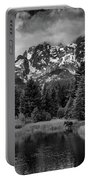 Moose At Schwabacher's Landing Portable Battery Charger by Gary Lengyel