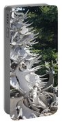 Moose Horn Tree Portable Battery Charger