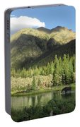 Moose In The Elk Creek Beaver Ponds Portable Battery Charger