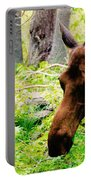 Moose Munching Portable Battery Charger