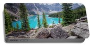 Moraine Lake Afternoon II Portable Battery Charger