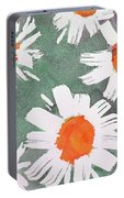 More Bunch Of Daisies Portable Battery Charger