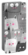 More Cats Portable Battery Charger