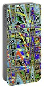 More Colors Abstract Portable Battery Charger