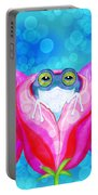 More Rose City Rain Frogs Portable Battery Charger