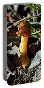 Morel Mushroom Portable Battery Charger