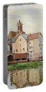 Moret-sur-loing. Morning Portable Battery Charger