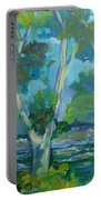 Moria River At Belleville Portable Battery Charger