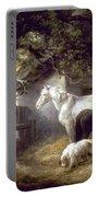Morland: Farmyard, 1792 Portable Battery Charger