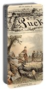 Mormon Cartoon, 1887 Portable Battery Charger