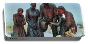 Mormon Handcart Family Monument Portable Battery Charger
