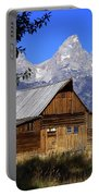 Mormon Row Barn  1 Portable Battery Charger