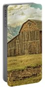Mormon Row Barn No 3 Portable Battery Charger