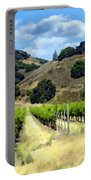 Morning At Mosby Vineyards Portable Battery Charger