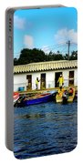 Morning At The Docks Portable Battery Charger