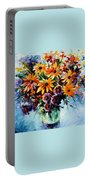Morning Bouquet Portable Battery Charger