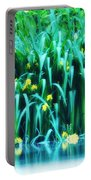 Morning By The Pond Portable Battery Charger