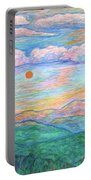 Morning Color Dance Portable Battery Charger