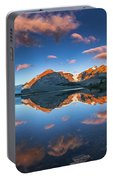 Morning Colors At Ice Field Center Portable Battery Charger
