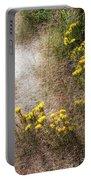 Morning Dew At Pendleton Park Portable Battery Charger