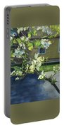 Morning Dogwood Portable Battery Charger