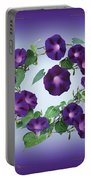Morning Glory Design Portable Battery Charger
