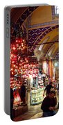 Morning In The Grand Bazaar Portable Battery Charger