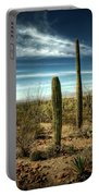 Morning In The Sonoran Desert Portable Battery Charger