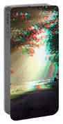 Morning Light - Use Red-cyan 3d Glasses Portable Battery Charger