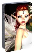 Morning Lily Fairy Portable Battery Charger